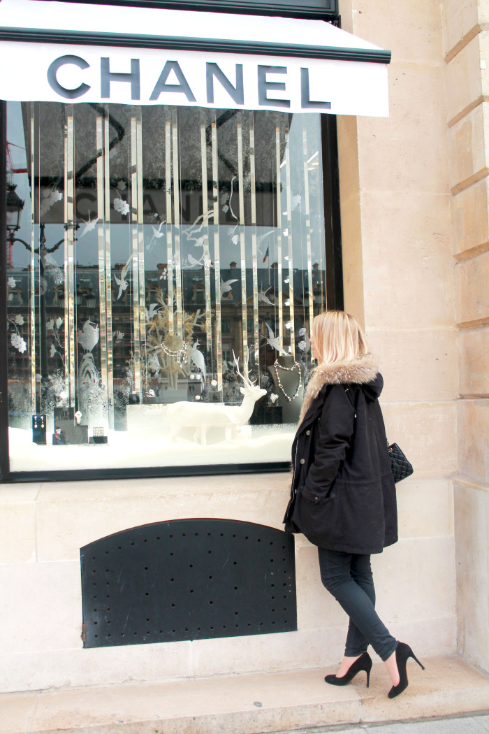 Window shopping Place Vendôme