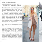 My interview for MY Fashion Magazine
